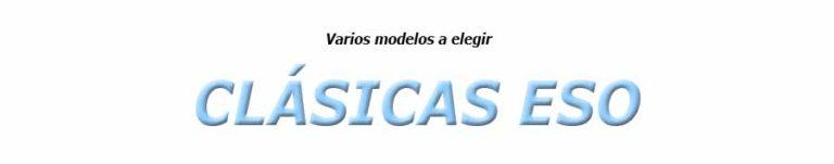 CLÁSICAS ESO