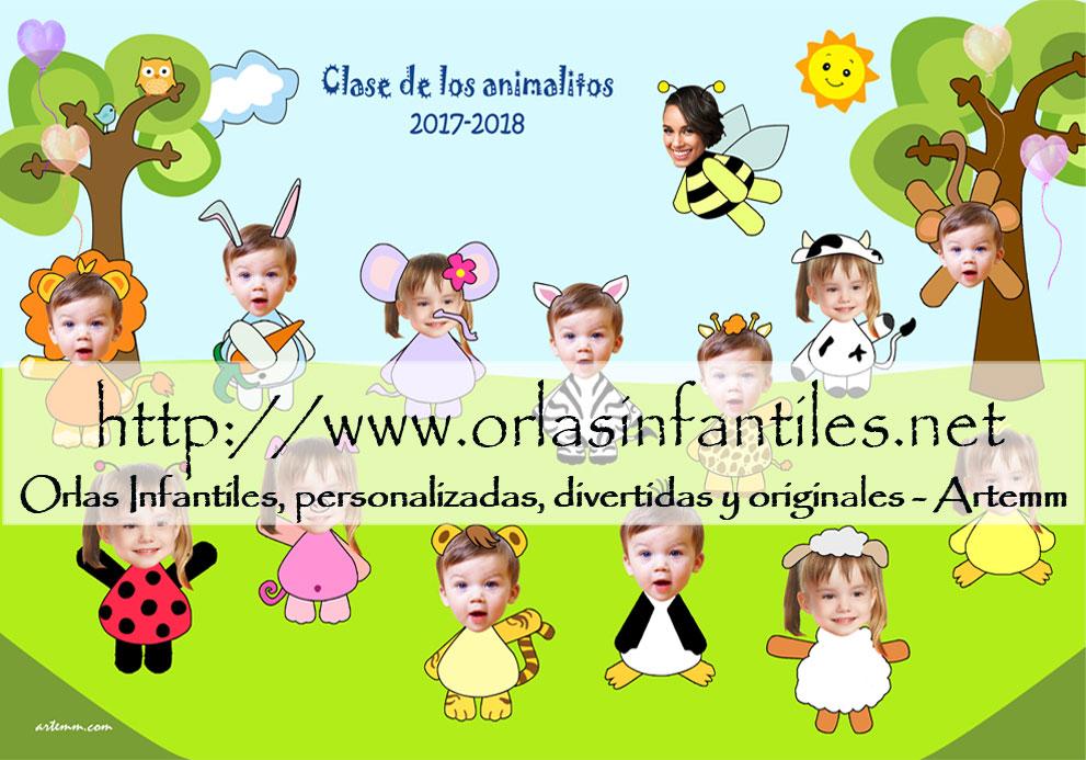 ORLA CLASE DE LOS ANIMALITOS