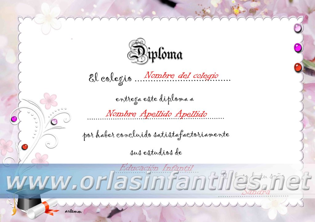 DIPLOMA PERLA