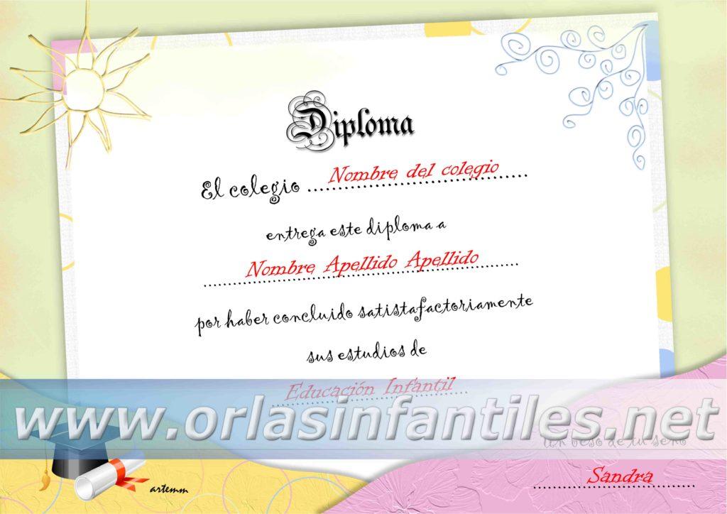 DIPLOMA SOL Y ARENA