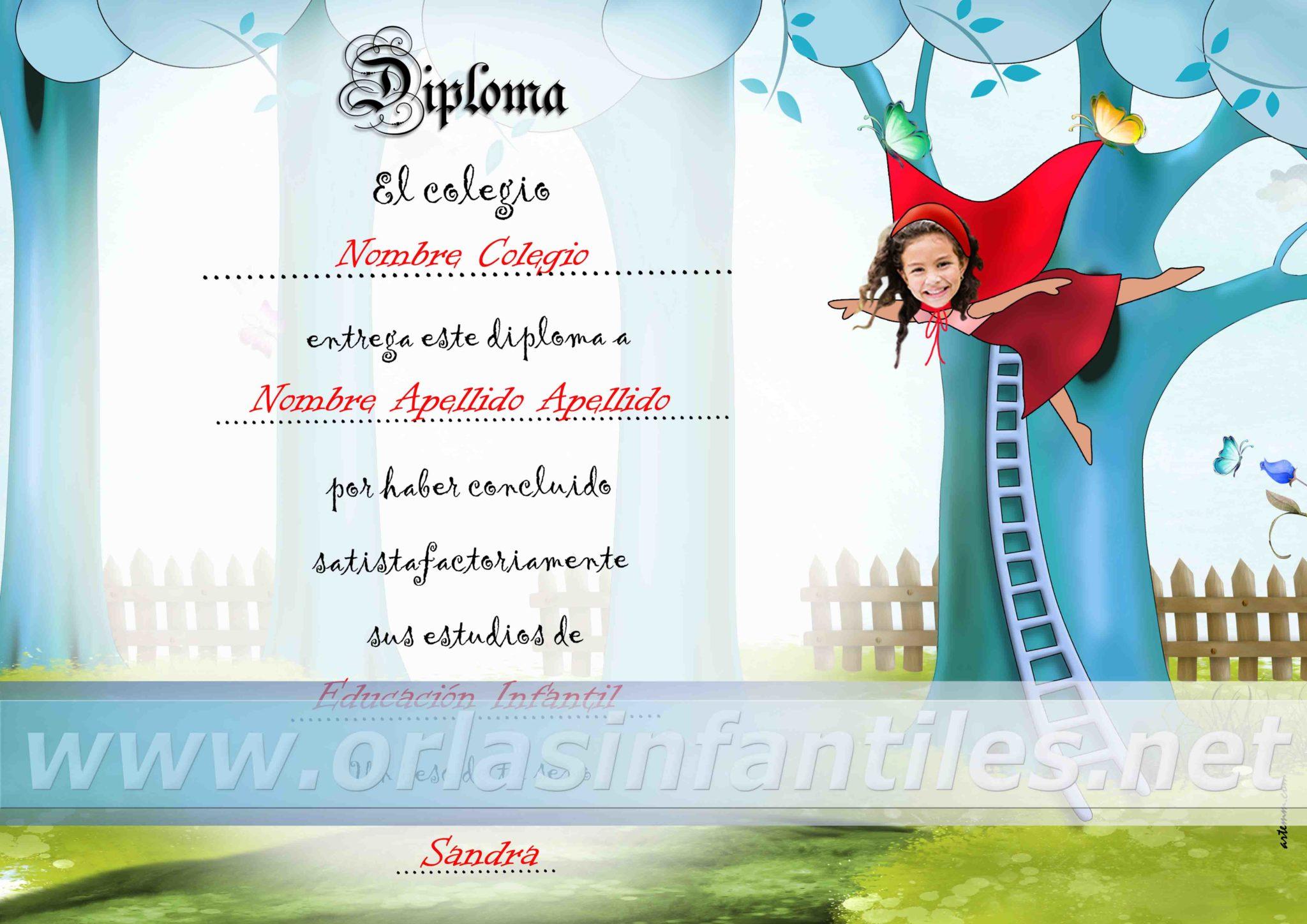 Diploma Caperucita 1
