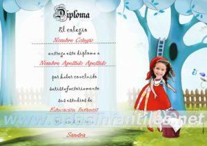 Diploma Caperucita 2