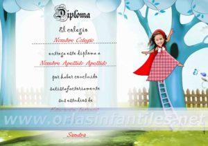 Diploma Caperucita 4