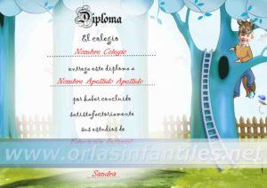 Diploma Caperucita 5