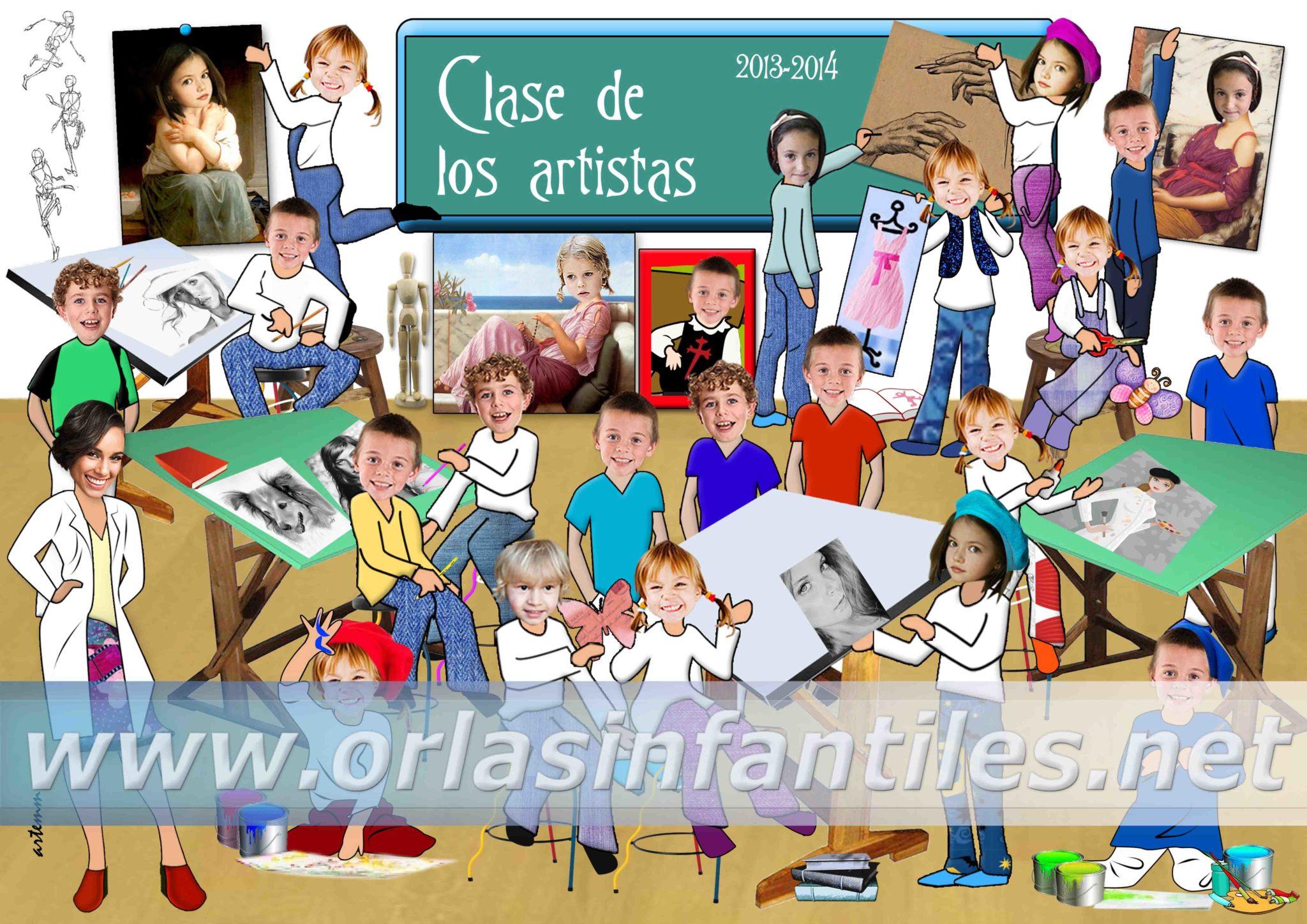 ORLA CLASE DE LOS ARTISTAS