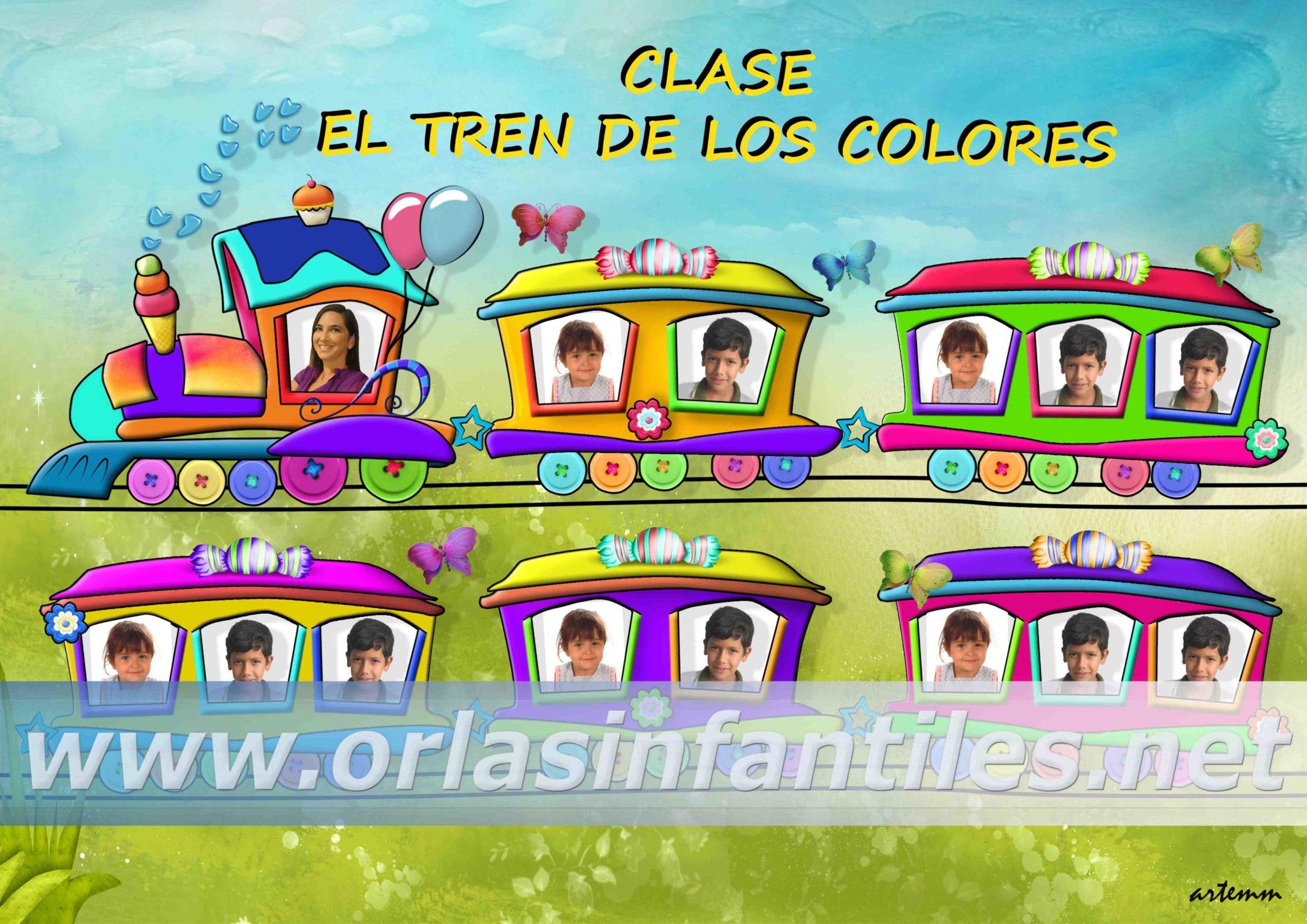 ORLA CLASE TREN DE LOS COLORES