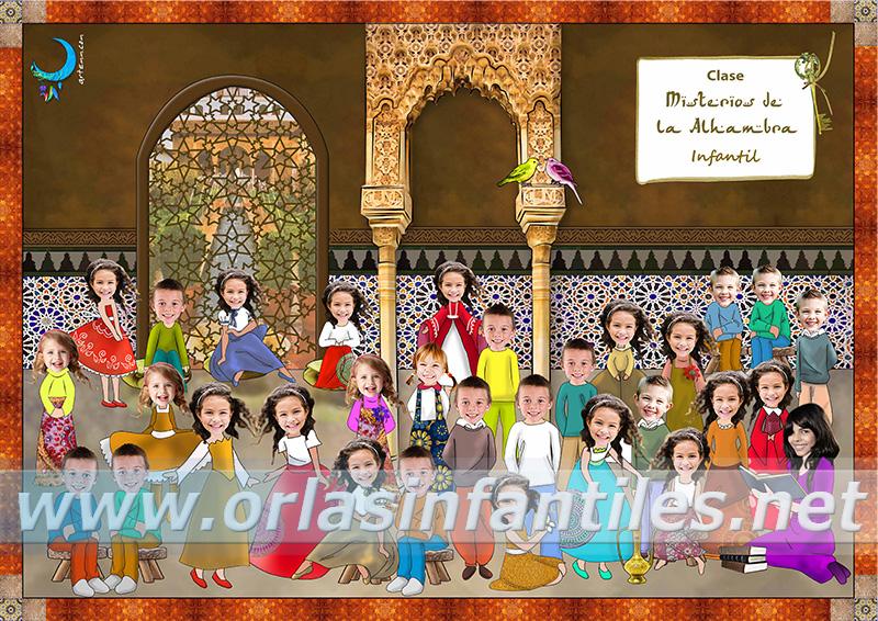 Orla Misterios de la Alhambra 2018
