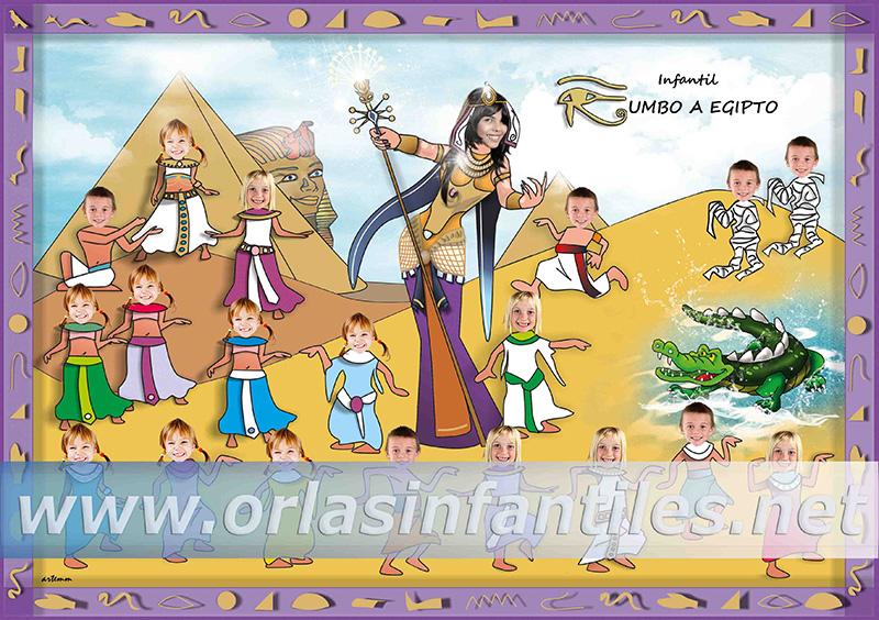 Orla Rumbo a Egipto Modelo B