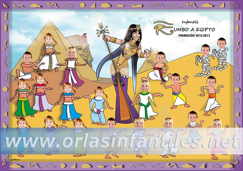 Orla Rumbo a Egipto Modelo C