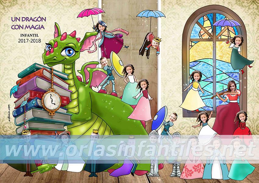 Orla Un dragón con magia