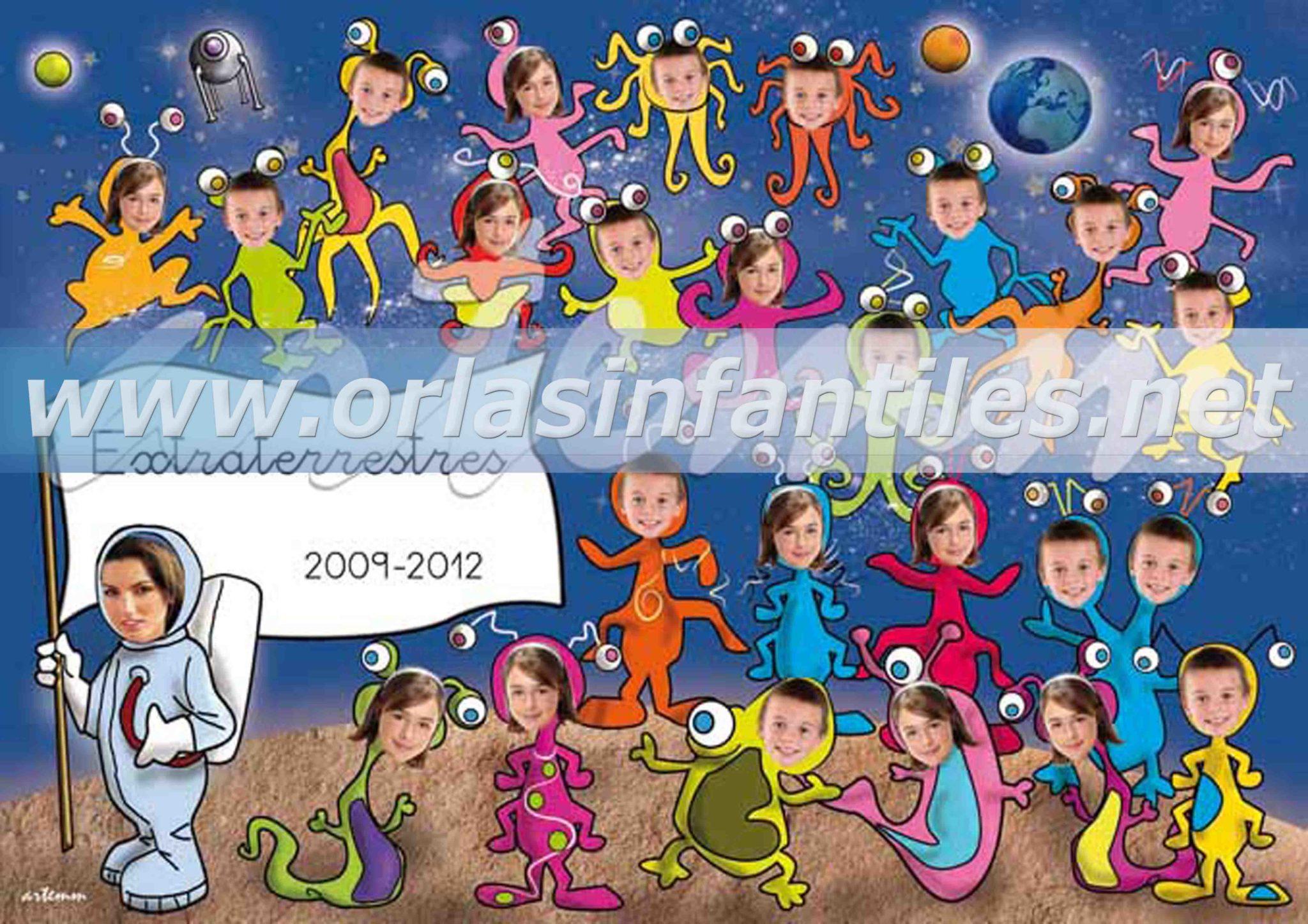Orla infantil Extraterrestres