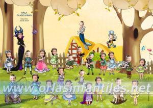 Orla infantil Clase Disney
