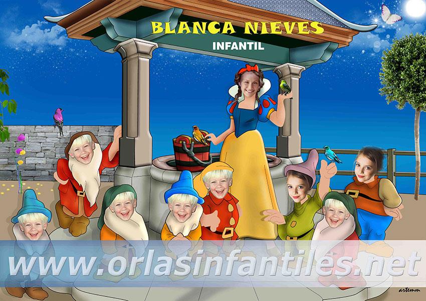 ORLA BLANCA NIEVES