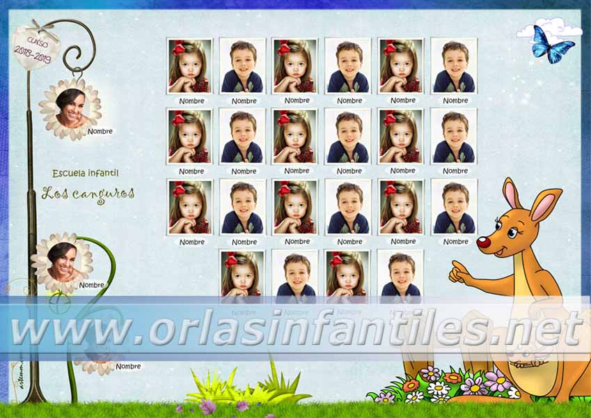 Orla Escuela infantil Los canguros