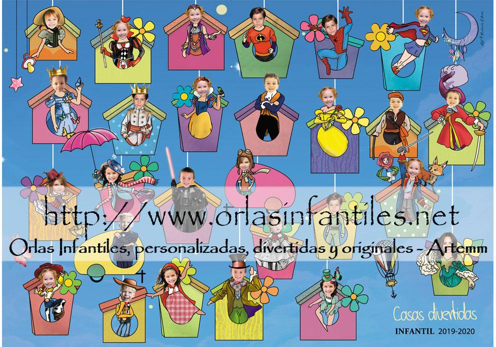 ORLA INFANTIL CASAS DIVERTIDAS