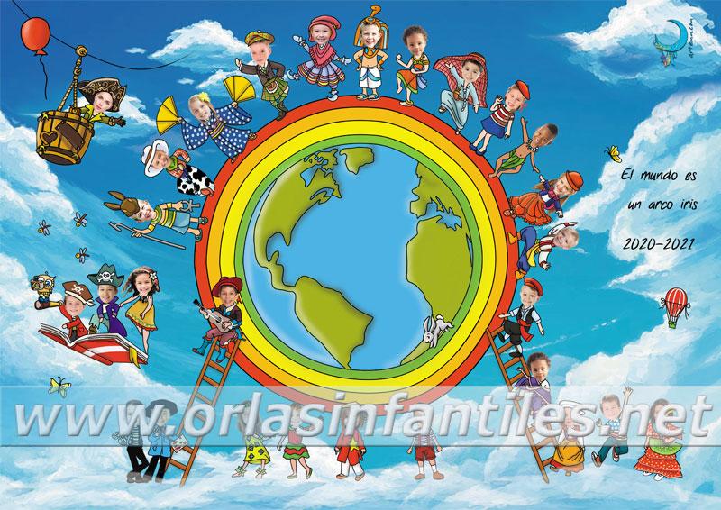 Orla El mundo es un arco iris