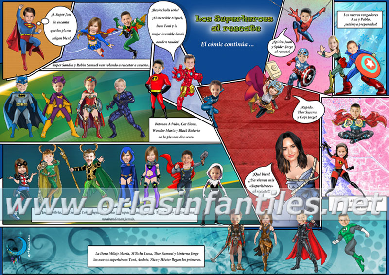 Superheroes al rescate 3