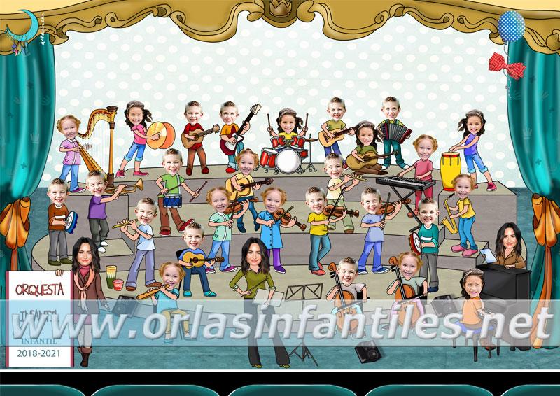 Orla Orquesta infantil